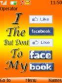 Facebook S40 Mobile Phone Theme