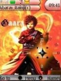 Gaara Clock S40 Mobile Phone Theme