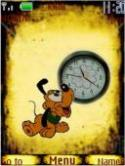 Goofy Clock S40 Mobile Phone Theme