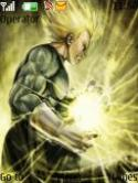 Majin Vegeta S40 Mobile Phone Theme