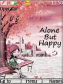 Alone But Happy S40 Mobile Phone Theme