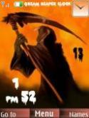 Gream Reaper Clock S40 Mobile Phone Theme