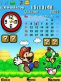 Mario Paper Gadgets S40 Mobile Phone Theme