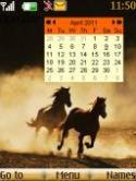 Calendar S40 Mobile Phone Theme