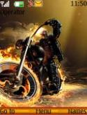 New Ghost Rider S40 Mobile Phone Theme