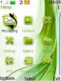 Green Icon S40 Mobile Phone Theme