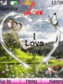 I Love You S40 Mobile Phone Theme