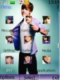 Justin Bieber S40 Mobile Phone Theme