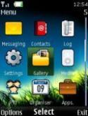 Night Grass 4d Nokia 3610 fold Theme