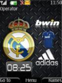 Real Madrid S40 Mobile Phone Theme