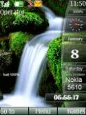 Waterfall Sidebar S40 Mobile Phone Theme