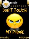 Dont Touch My Phone Symbian Mobile Phone Theme