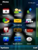 Flash Color Symbian Mobile Phone Theme