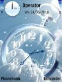 Analog Clock Symbian Mobile Phone Theme