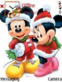 Mickeys Christmas Nokia X5 TD-SCDMA Theme