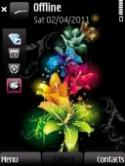 Flower Symbian Mobile Phone Theme