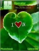 Nature Love Symbian Mobile Phone Theme