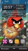 Angry Bird Symbian Mobile Phone Theme
