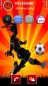 Football Symbian Mobile Phone Theme