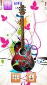 Guitar Symbian Mobile Phone Theme