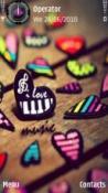 Love Music Symbian Mobile Phone Theme