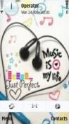 Music Is My Life Symbian Mobile Phone Theme