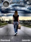 Alone Girl Symbian Mobile Phone Theme