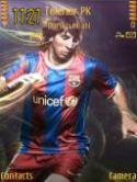 Messi Symbian Mobile Phone Theme