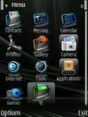 Neon Menu Symbian Mobile Phone Theme