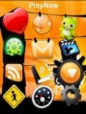 Orange Ver  Mobile Phone Theme