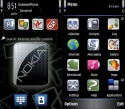 Black Nokia Symbian Mobile Phone Theme