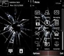 Broken Screen Theme for Nokia 603