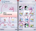 Islamic Abstract Symbian Mobile Phone Theme