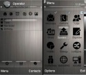 Metallic Symbian Mobile Phone Theme