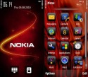 Nokia Red Theme for Nokia 603