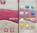 Pink Nokia Symbian Mobile Phone Theme