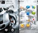 Turning Car Symbian Mobile Phone Theme