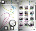 S60 White Symbian Mobile Phone Theme