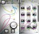 S60 White Sony Ericsson Vivaz Theme