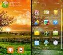 Sun Rise Nokia E7 Theme