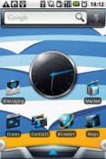 Blue Fantasy Android Mobile Phone Theme