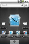 Cubroid Android Mobile Phone Theme