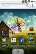 Farm House Android Mobile Phone Theme