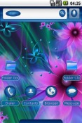 Feelin Blue Theme for QMobile NOIR A10