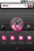 Girly Droid Gear Theme for QMobile NOIR A10