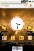 Golden Sunset QMobile NOIR A10 Theme