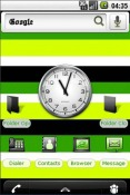 Green and black Theme for QMobile NOIR A10