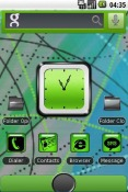 GreenNBlack Theme for QMobile NOIR A10