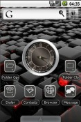 GTred Theme for QMobile NOIR A10