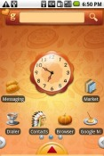 Happy Thanks Giving Theme for QMobile NOIR A10